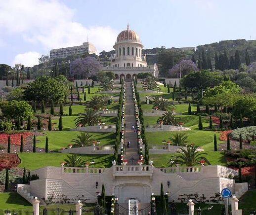 Terrace Gardens and Shrine, Israel