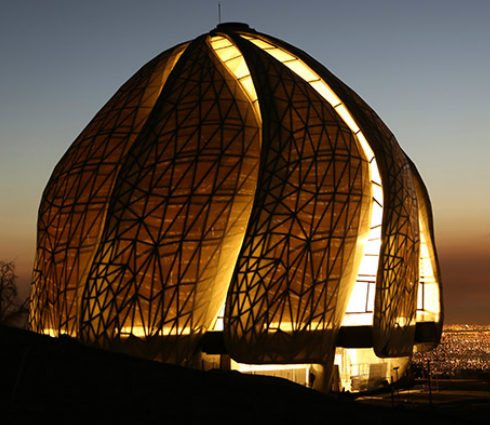 House of Worship, Chile  (© Bahá'í International Community)